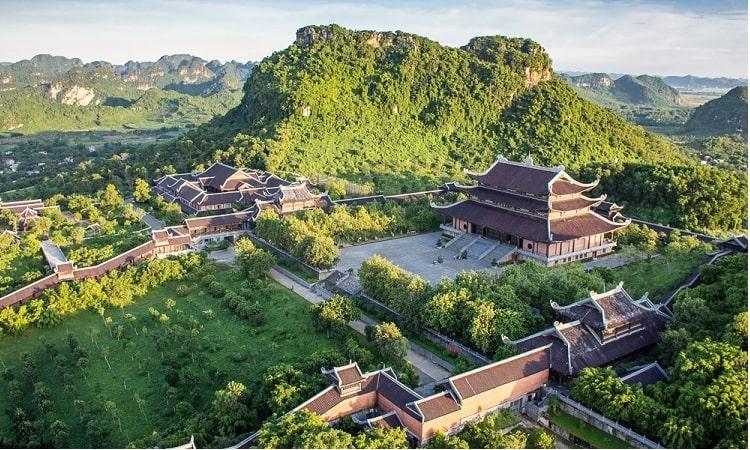 Toàn cảnh chùa Bái Đính Ninh Bình