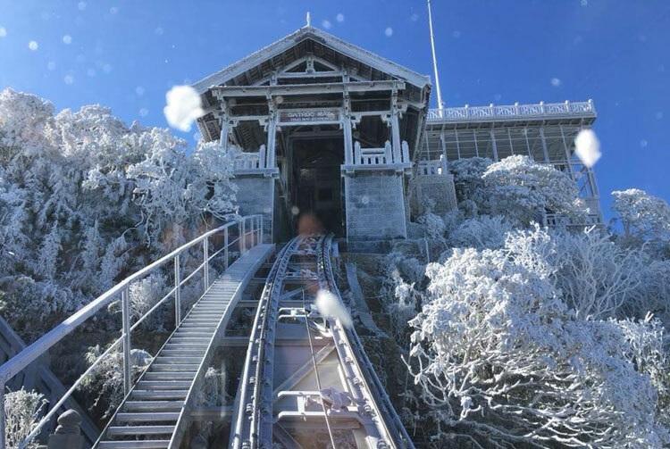 Săn Tuyết tại Fansipan Sapa