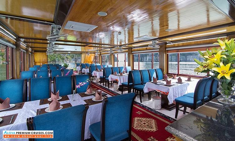 Nhà hàng du thuyền Hạ Long Alova