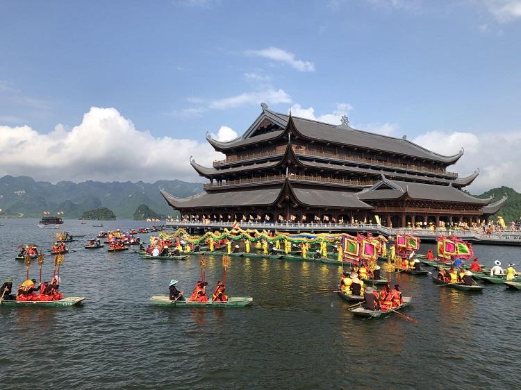 Trung Tâm Quốc Tế Vesak chùa Tam Chúc