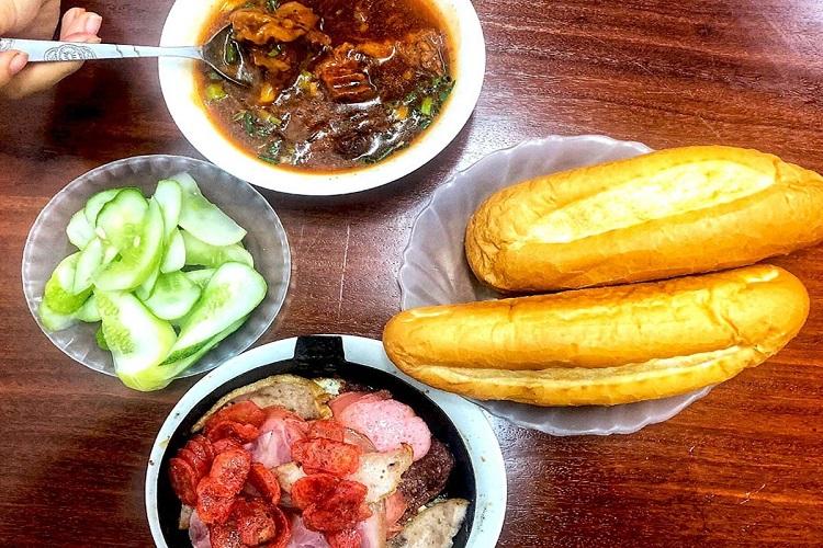Bánh mì áp chảo Thái Thịnh