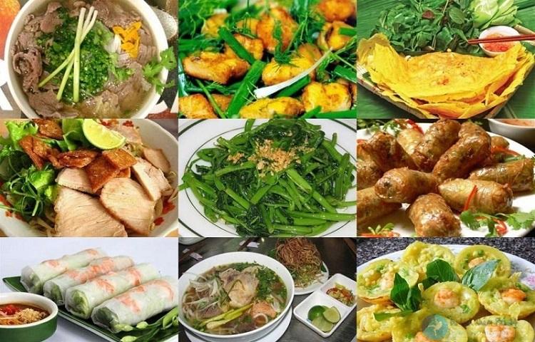Các món ăn ngon ở Hà Nội