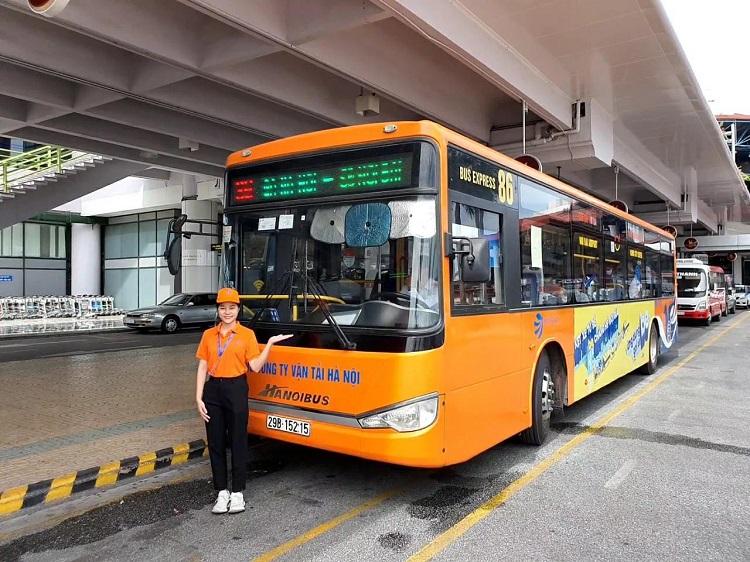 Buýt nhanh đi sân bay Nội Bài